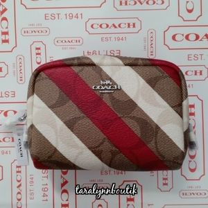 🐎Coach Mini Boxy Cosmetic Case🐎